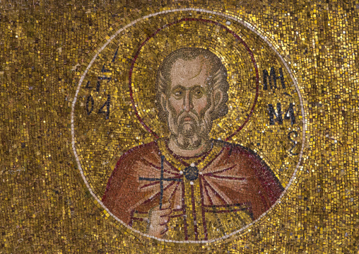 Mosaics and paintings in the byzantine church of st. Savior in Chora, Edirnekapı, istanbul, Turkey