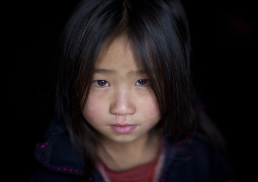 Girl from the black hmong tribe, Sapa, Vietnam