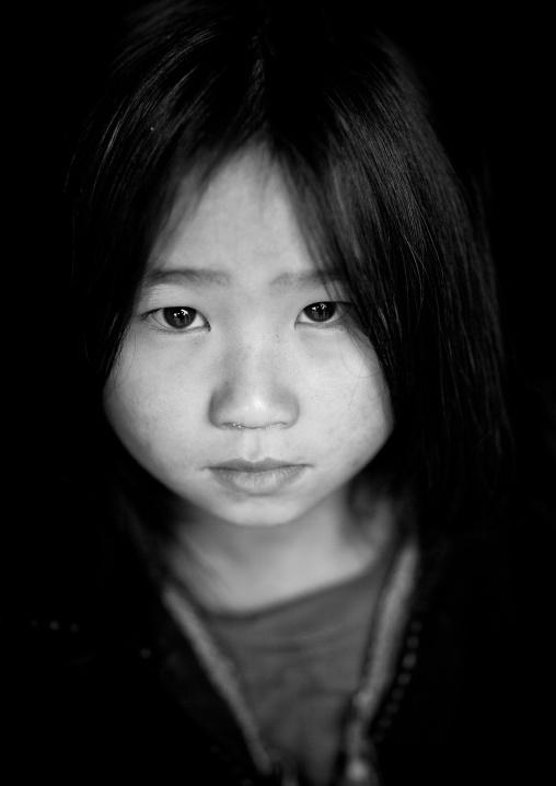 Girl from the black hmong tribe, Sapa, Vietnam