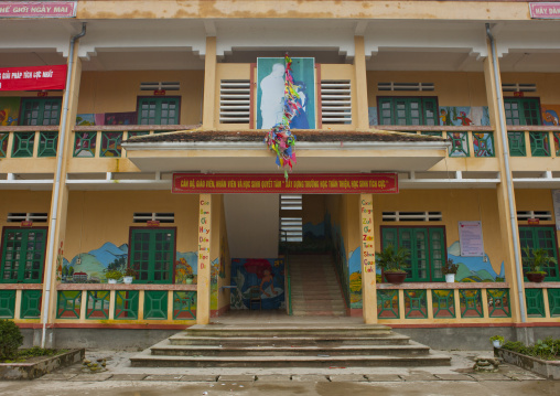 Primary school, Sapa, Vietnam
