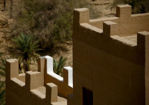 Adobe And Painted Buildings, Wadi Doan, Yemen
