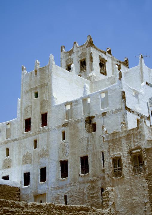 Old White Painted Palace, Hadramaut, Yemen