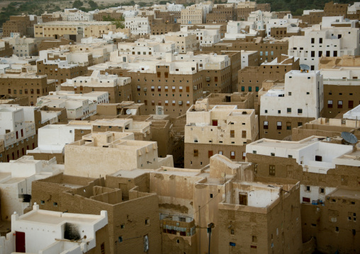 Aerial View Of Shibam, Yemen