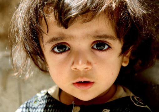 Portrait Of A Little Girl, Sanaa, Yemen