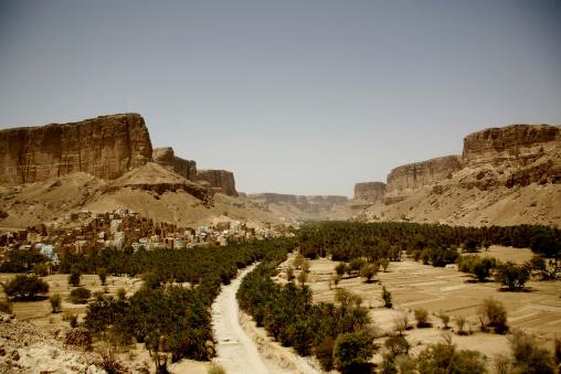 View Of Wadi Doan, Hadramaut, Yemen
