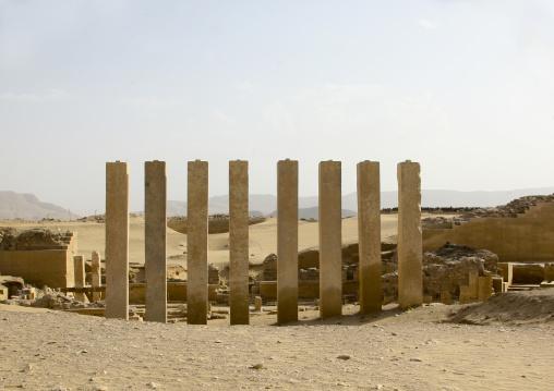 Temple Of Moon God, Marib, Yemen