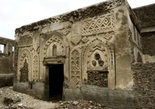 Remains Of Ancient House, Zabid, Yemen