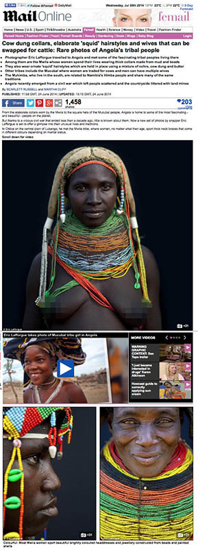 Daily Mail - Angola