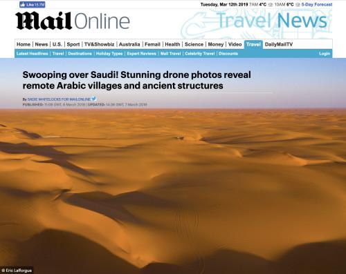 Daily Mail Saudi Drone
