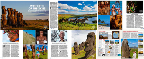 Lonely Planet Magazine - Easter Island