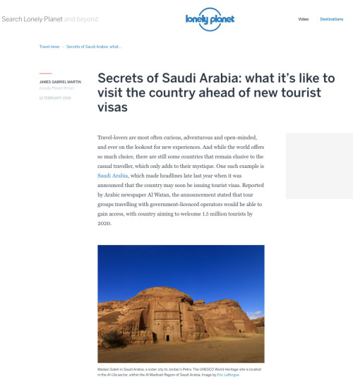 Lonely Planet Magazine - KSA