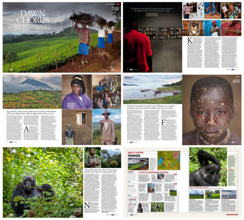 Lonely Planet Magazine - Rwanda