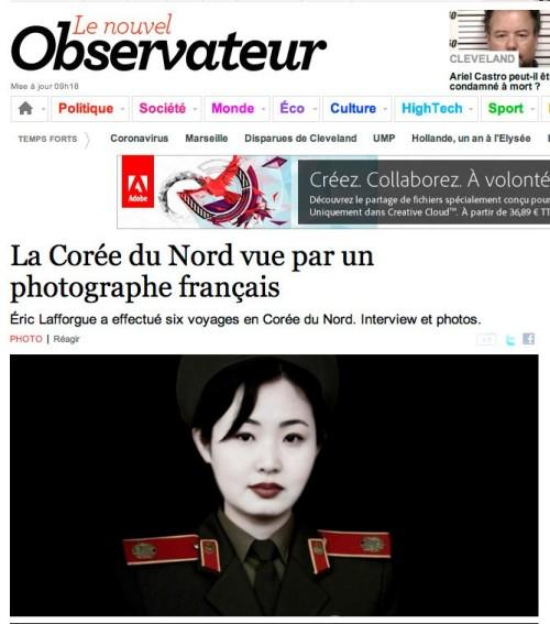 Le Nouvel Obs - La Corée du Nord