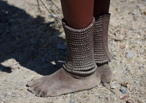 Muhimba Woman S Ankle Bracelets, Village Of Elola, Angola