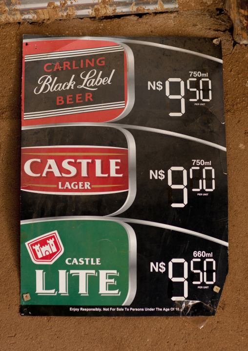 Beer Prices On Pub S Card, Angola