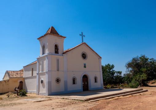 White chapel, Huila Province, Lubango, Angola
