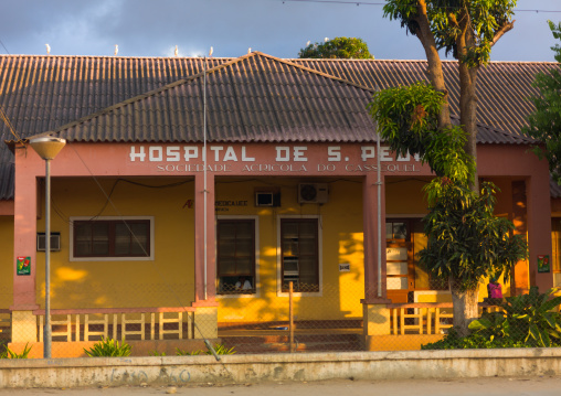 Local hospital in the countryside, Benguela Province, Cassequel, Angola