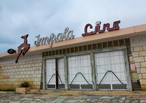 Old impala cinema theatre, Namibe Province, Namibe, Angola