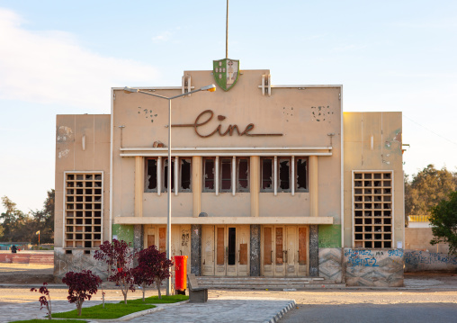 Former portuguese movie theatre, Namibe Province, Tombua, Angola