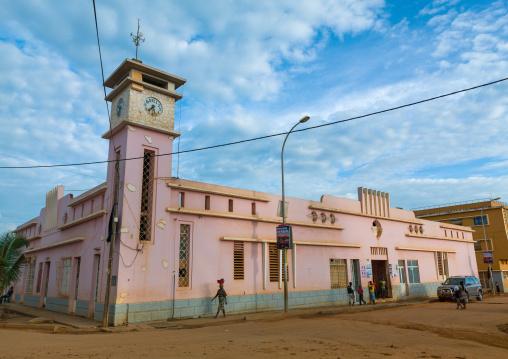 Local market building, Cuanza Norte, N'dalatando, Angola