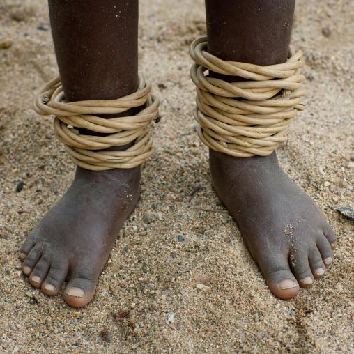 Mucubal Anklets, Virie Area, Angola