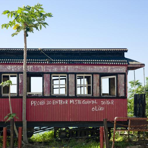 Old Train Carriage, Luanda, Angola