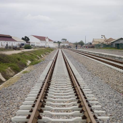 Railway In Benguela, Angola
