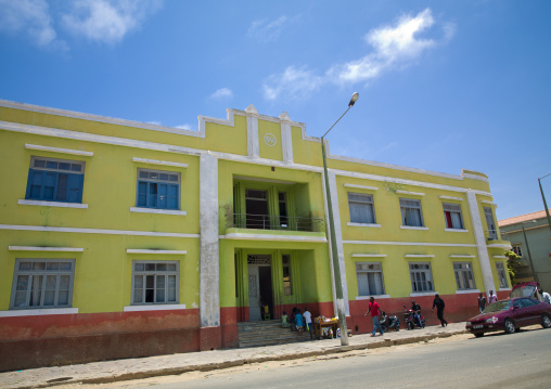 Former Portuguese Building In Namibe Town, Angola