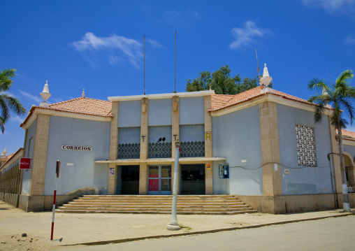 Post Office In Namibe Town, Angola