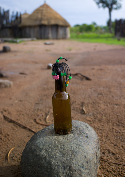 Mwila Doll Made With A Bottle Of Beer, Angola