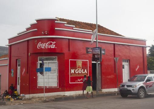 Pub Sponsored By Coca Cola And N Gola Beer In Lubango, Angola
