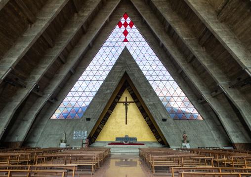 Inside se catedral de nossa senhora de fatima aka cathedral of our lady of Fatima, Benguela Province, Benguela, Angola