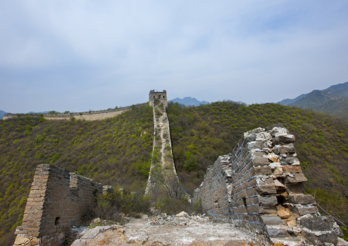 The Great Wall, Non Renovated, Beijing, China
