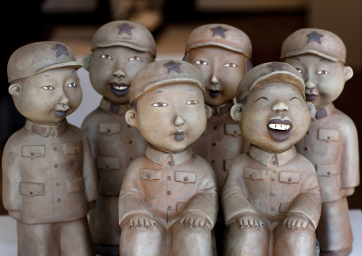 Statues At 798 Art Center, Beijing , China