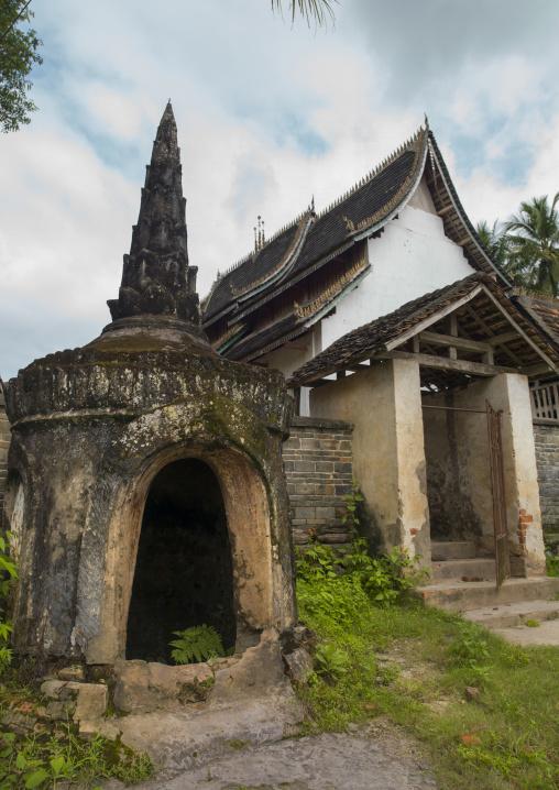 Temple In Galamba, Xishuangbanna Region, Yunnan Province, China