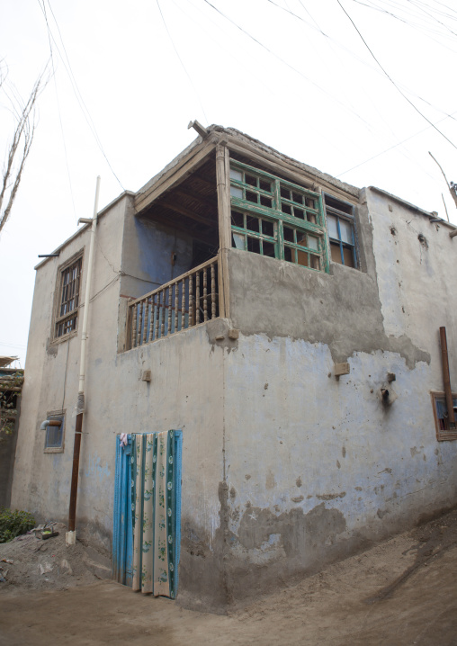 House In Keriya, Old Town, Xinjiang Uyghur Autonomous Region, China