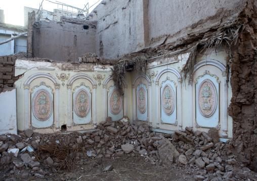 Demolished House, Old Town Of Kashgar, Xinjiang Uyghur Autonomous Region, China