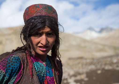 Wakhi nomad woman, Big pamir, Wakhan, Afghanistan