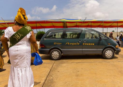 Benin, West Africa, Porto-Novo, king zounon car