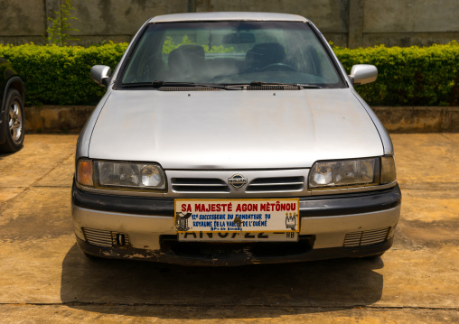 Benin, West Africa, Porto-Novo, agon metonou king car
