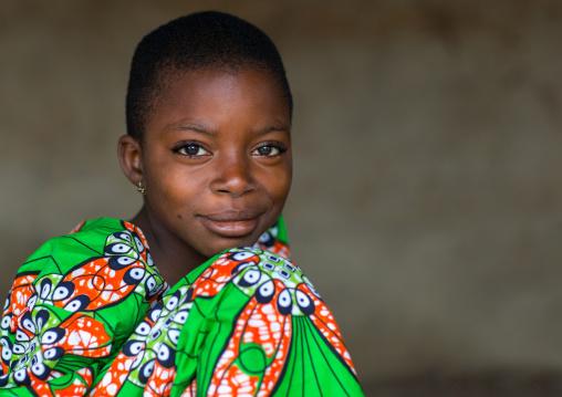Benin, West Africa, Adjara, beautiful black african girl