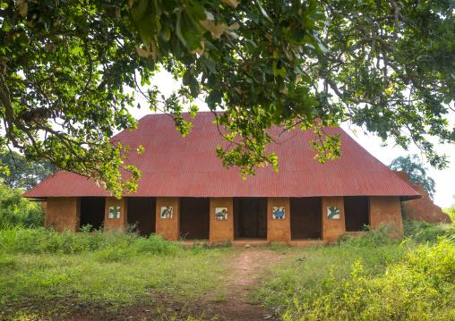 Benin, West Africa, Abomey, former king palace