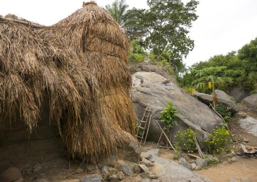 Benin, West Africa, Dassa-Zoumè, yaka palace of the omondjagou people