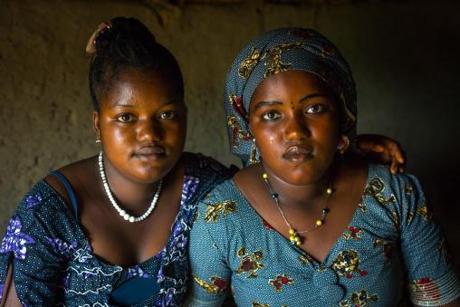 Benin, West Africa, Taneka-Koko, peul tribe women
