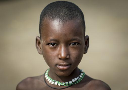 Benin, West Africa, Gossoue, a fulani peul tribe boy