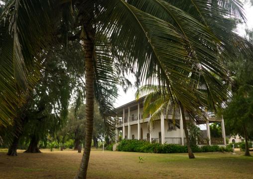 Benin, West Africa, Grand-Popo, auberge de grand-popo