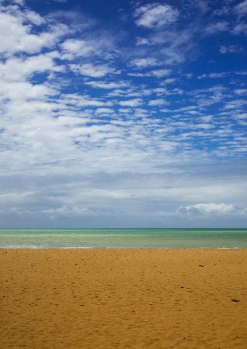 Benin, West Africa, Ouidah, beach on the slave coast