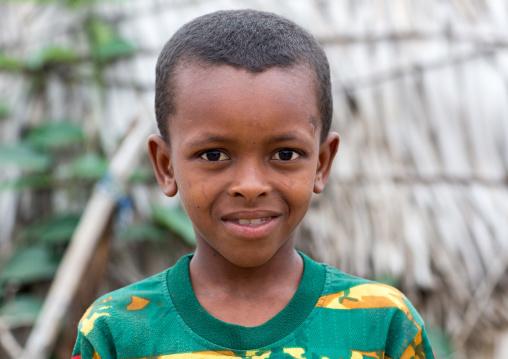 Benin, West Africa, Savalou, fulani peul tribe boy