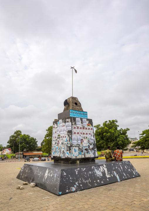 Benin, West Africa, Cotonou, nawa girouette by karim rafi on lenine place