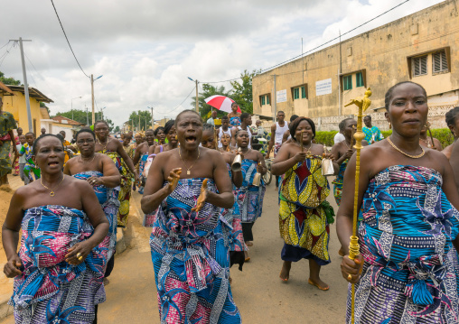 Benin, West Africa, Porto-Novo, porto-novo king toffa ii court
